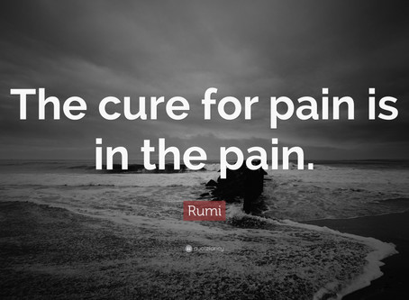 The Waves of Change: Dealing with Pain