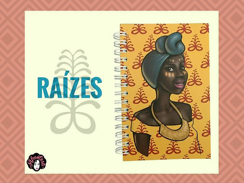 Roots Unlined Notebook - Various Sizes