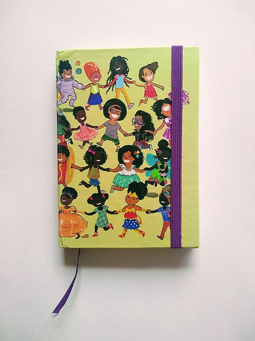 """I Can Be Anything!"" Hardcover Unlined Notebook - Various Sizes"