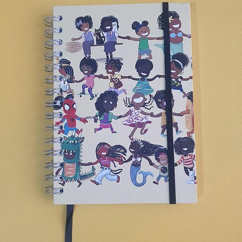 """I Can Be Anything!"" Hardcover Notebook - Various Sizes"