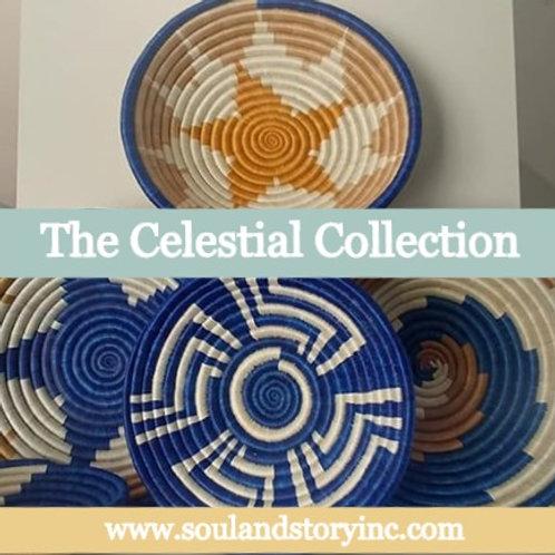 The Celestial Collection: Handwoven Baskets (Rwanda)