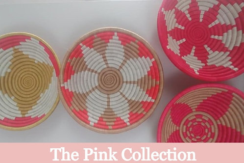 The Pink Collection: Handwoven Baskets (Rwanda)
