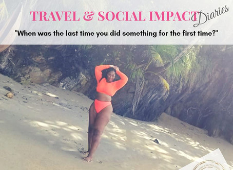 Travel and Social Impact Diaries: Amy Staten