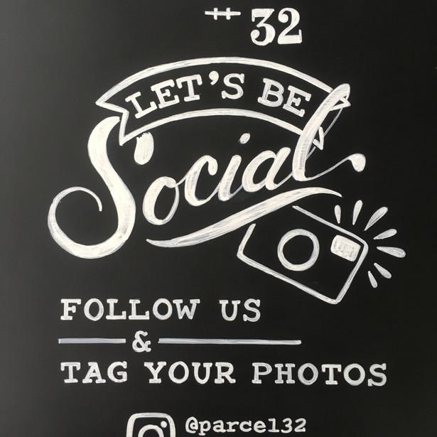 Let's be Social!