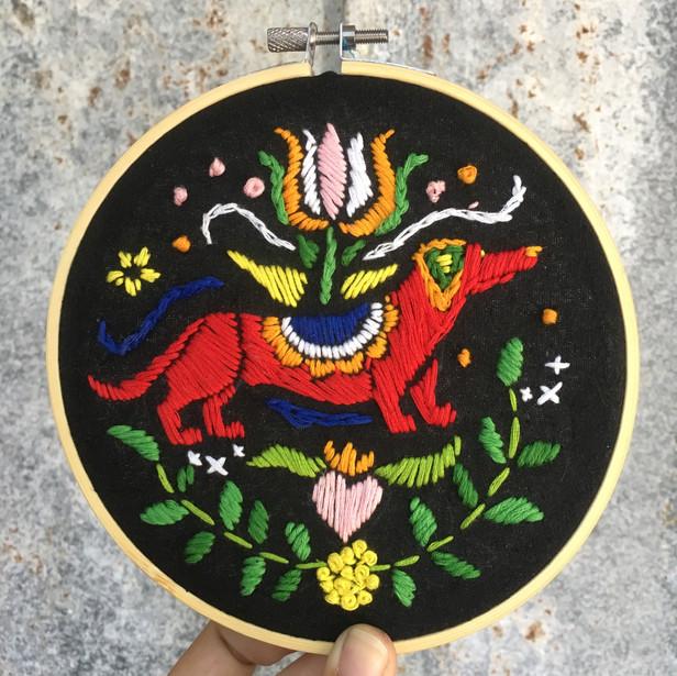 Scandinavian Folk Art Embroidery