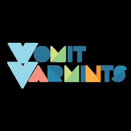 Vomit Varmints Burp Cloths