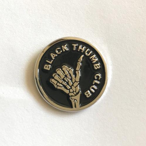 Black Thumb Club Enamel Pins