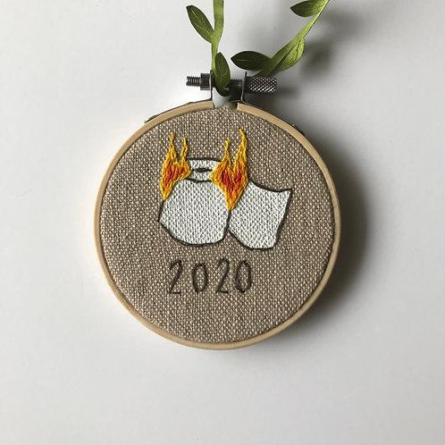 Burning TP 2020 Holiday Ornament - 3