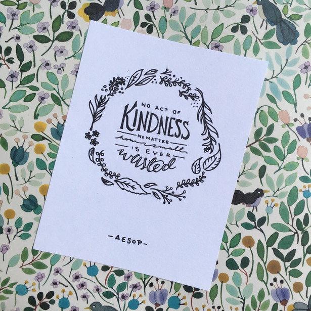 Kindness Illustration
