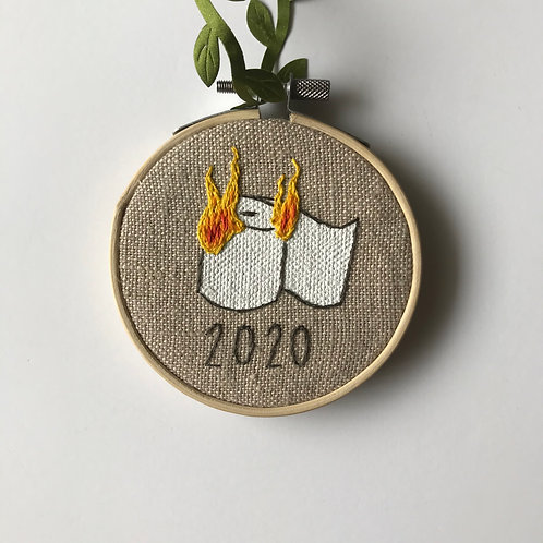 Burning TP 2020 Holiday Ornament - 2