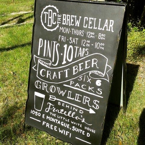 Brew Cellar A Frame