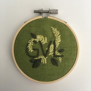 GVL Greenville Embroidered Ornament