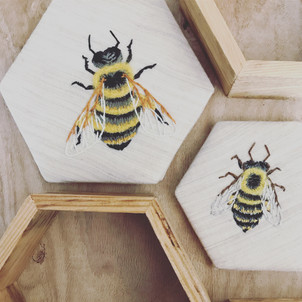 Honey Bee Embroidery