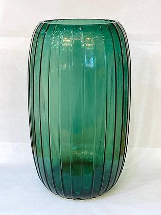 אגרטל ירוק שקוף