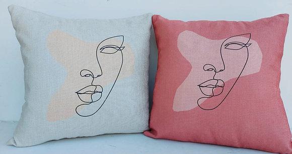כריות מעוצבות לסלון כריות עם ציורים מיוחדים כרית ורודה כרית לבנה לרכישה אונליין