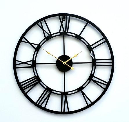 שעון עם ספרות רומיות שעון מתכת שעון ללא זכוכית שעון לרכישה אונליין