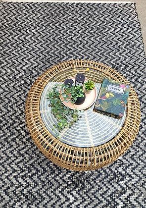 שטיח שחור לבן זיגזג שטיח לרכישה אונליין