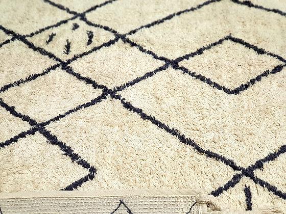 שטיח חושן שטיח בסגנון בוהו שיק שטיח לבן שחור שטיחים אונליין