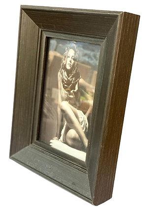 מסגרת תמונה מלבנית חומה ריהוט הבית אונליין