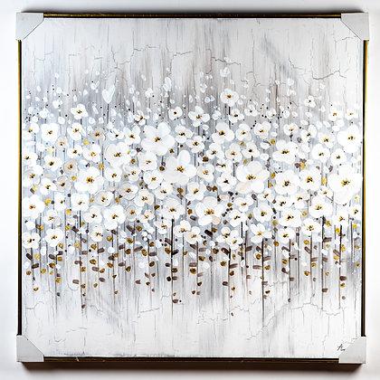 תמונת פרחים לבנים