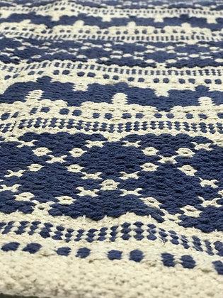 שטיחון 60 * 90 כחול לבן לרכישה אונליין