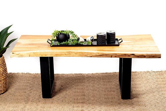 שולחן פלטת עץ שולחן מלבני לסלון שולחן לסלון אונליין ריהוט הסלון אונליין
