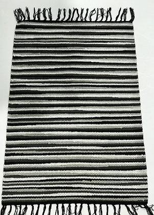 שטיח שחור לבן 60 * 90 לרכישה אונליין