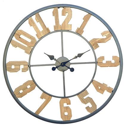 שעון מספרי עץ
