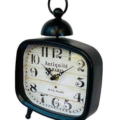 שעון שולחן-שעוןבסגנון וינטג'- שעון קטן-שעון מחוגים -שעון מחוגים קטן