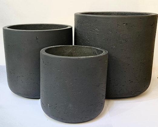 כלי בטון כלי לצמחים כלי בטון כהה כלים לצמחים אונליין