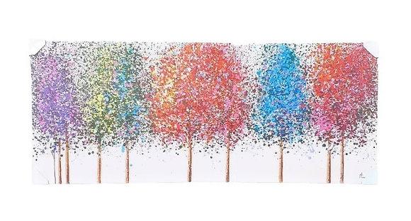 עצים צבעוניים 70 * 170