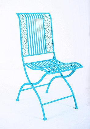 כסא ברזל טורקיז ריהוט גן