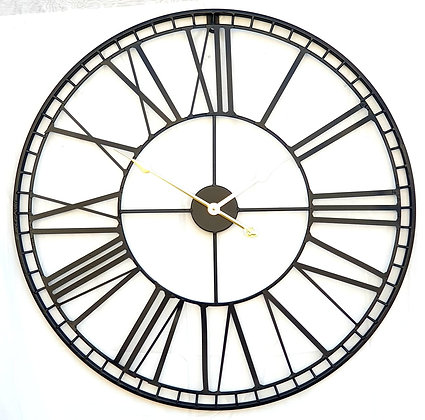 שעון רומי מתכת