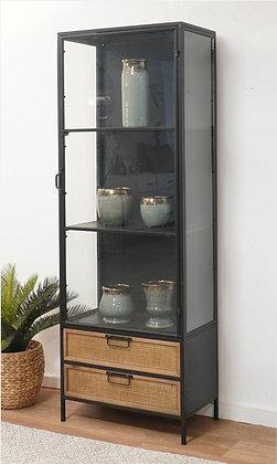 ויטרינה לסלון-ויטרינה זכוכית לסלון-מדפים לסלון-מדפים עם מגירות לסלון