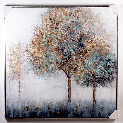 תמונה עץ נקודות צבע
