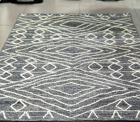 שטיח צמר אפור שמנת שטיחים לסלון שטיחים לחדר שינה שטיחים אונליין