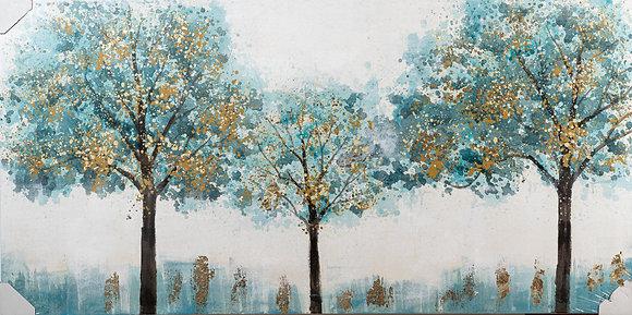 תמונת עצים כחולים