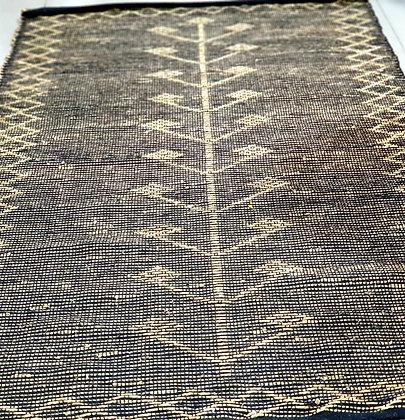 שטיח סיגרס שחור שטיח שחור מיוחד שטיח חבל שחור שטיחים אונליין