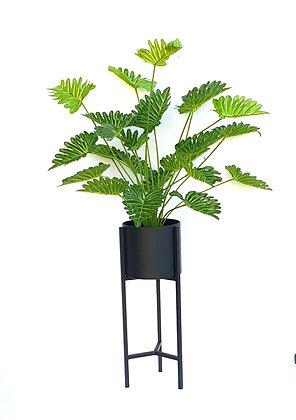 פלנטר שחור כלי לעציצים עם רגליים גבוהות פלנטר לרכישה אונליין