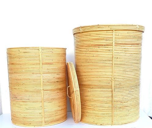 סל כביסה עגול סל כביסה קש עגול סל כביסה מעוצב לרכישה אונליין