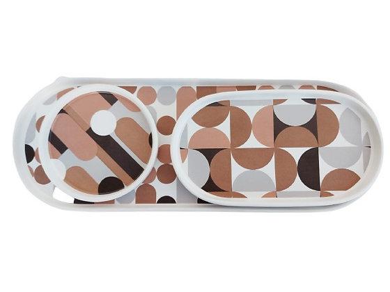מגשי קרמיקה מעוצבים מגשים מעוצבים לבית אקססרויז לריהוט הבית מגשים צבעוניים