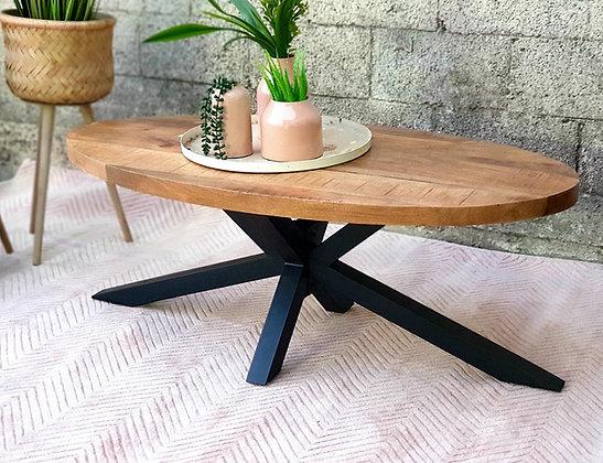 שולחן מנגו אובלי