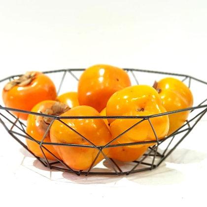 קערה פירות מתכת