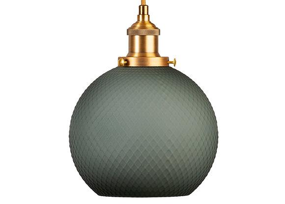 מנורות תלייה לרכישה אונליין מנורת תלייה עגולה שחורה עם זהב
