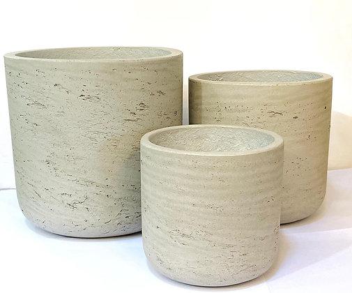כלי בטון משופשף כלי בטון לצמחים כלי בטון לרכישה אונליין