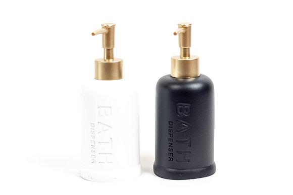 סבוניות לאמבטיה סבונית שחורה סבונית לבנה כלים לאמבטיה אונליין