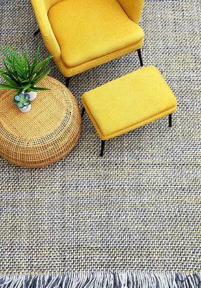 שטיח עם נגיעות חרדל שטיח אפור לרכישה אונליין