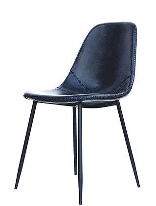 כסא דמוי עור רגלי מתכת כסא למטבח כסא לרכישה אונליין