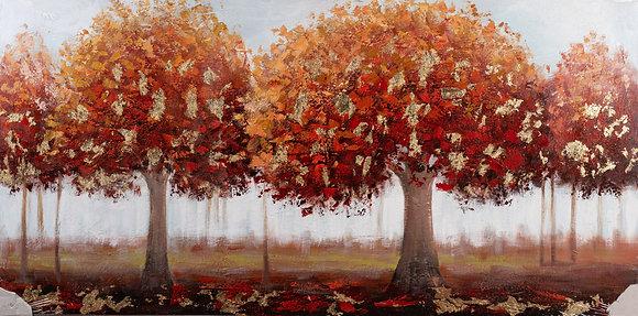 תמונת עצים אדומים