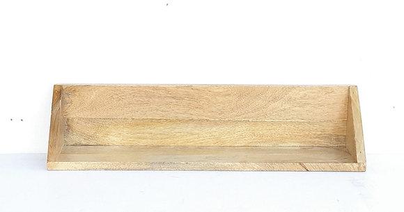 מדף צף עץ מנגו לרכישה אונליין